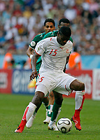Photo: Glyn Thomas.<br />Tunisia v Saudi Arabia. Group H, FIFA World Cup 2006. 14/06/2006.<br /> Tunisia's Radhi Jaidi.