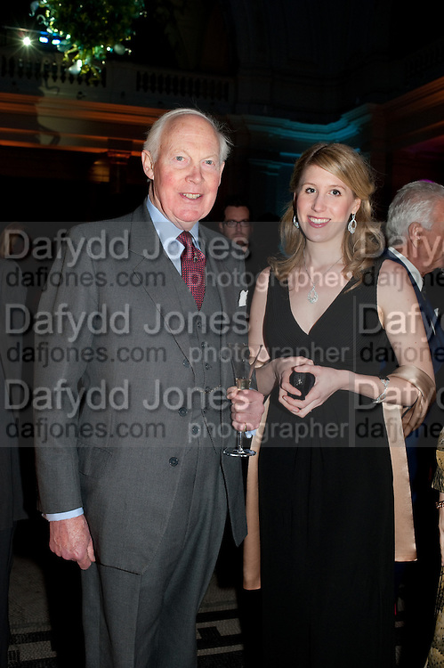 SIR JOHN SMILEY, Cecil Beaton private view. V and A Museum. London. 6 February 2012
