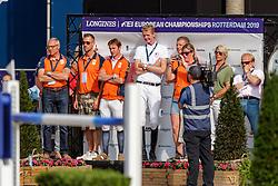 HOUTZAGER Marc (NED), STERREHOF'S CALIMERO<br /> Rotterdam - Europameisterschaft Dressur, Springen und Para-Dressur 2019<br /> Longines FEI Jumping European Championship part 2 - team 2nd and final round<br /> Finale Teamwertung 2. Runde<br /> 24. August 2019<br /> © www.sportfotos-lafrentz.de/Stefan Lafrentz