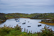 Inishbofin is a small island off the coast of Connemara, with around 180 inhabitants.