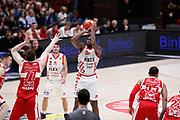 Bond Jaylen, EA7 EMPORIO ARMANI OLIMPIA MILANO vs THE FLEXX PISTOIA, 29^ Campionato Lega Basket Serie A 2017/2018, Mediolanum Forum Assago (MI) 6 maggio 2018 - FOTO: Bertani/Ciamillo
