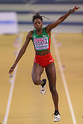 Susana Costa (Portugal), Women's Triple Jump, during the European Athletics Indoor Championships at Emirates Arena, Glasgow, United Kingdom on 3 March 2019.