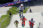 BMX Finals, Laura Smulders (Netherlands) during the Cycling European Championships Glasgow 2018, at Glasgow BMX Centre, in Glasgow, Great Britain, Day 9, on August 10, 2018 - Photo luca Bettini / BettiniPhoto / ProSportsImages / DPPI<br /> - Restriction / Netherlands out, Belgium out, Spain out, Italy out -