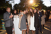 ABDULLAH AL TURKI; ALAA AL SHROOGI; SHARIFA AL SUDARI; PRINCESS ALIA AL SENUSSI, SANDRA SORIANO, The Serpentine Contempories party. Kensington Gdns. 16 September 2013