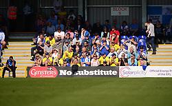 Bristol Rovers fans. - Mandatory by-line: Alex James/JMP - 08/04/2017 - FOOTBALL - Cherry Red Records Stadium - Kingston upon Thames, England - AFC Wimbledon v Bristol Rovers - Sky Bet League One