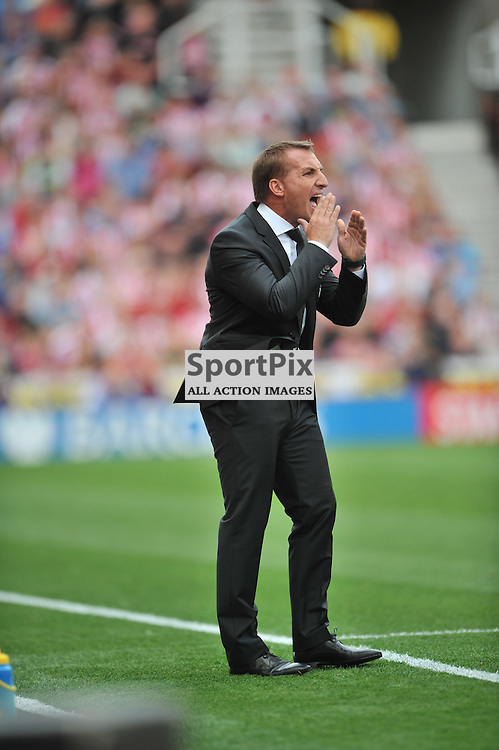 iverpool Manager Brendan Rogers Stoke City v Liverpool Premiership Brittania Stadium, Sunday 9th August 2015Stoke City v Liverpool Premiership Brittania Stadium, Sunday 9th August 2015