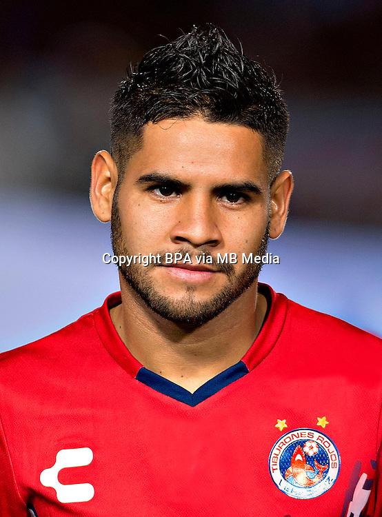 Mexico League - BBVA Bancomer MX 2016-2017 / <br /> El Tiburon - Club Deportivo Tiburones Rojos de Veracruz / Mexico - <br /> Daniel Villalva