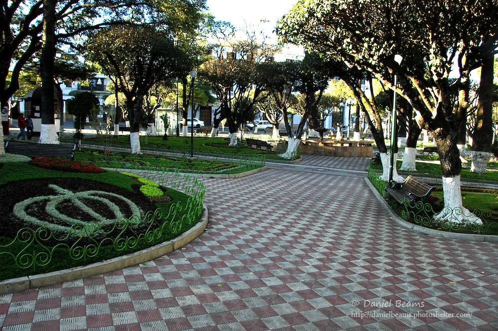 25 de Mayo Plaza, Sucre, Bolivia