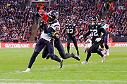 Houston Texans Wide Receiver DeAndre Hopkins (10) during the International Series match between Jacksonville Jaguars and Houston Texans at Wembley Stadium, London, England on 3 November 2019.