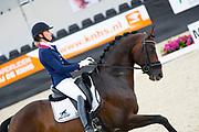 Dinja van Liere - Hermes<br /> WK Selectie Jonge Dressuurpaarden 2017<br /> © DigiShots