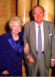 Actress JUNE WHITFIELD and her husband MR TIM AITCHESON at a luncheon in London on 21st October 1998.MLA 4