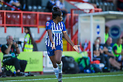 Ini Umotong (Brighton) during the FA Women's Super League match between Brighton and Hove Albion Women and Chelsea at The People's Pension Stadium, Crawley, England on 15 September 2019.