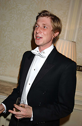 PRINCE MAX ZU SALM at a dinner hosed by Moet & Chandon at their headquarters at 13 Grosvenor Crescent, London on 12th October 2005.<br /><br />NON EXCLUSIVE - WORLD RIGHTS