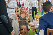 NATALIE JOEL; HUGO TAYLOR, Cartier Queen's Cup. Guards Polo Club, Windsor Great Park. 17 June 2012