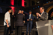 Opening of Sebastião Salgado: Genesis | Natural History Museum, Cromwell Rd. London. 9 April 2013
