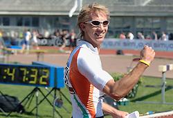 08-07-2006 ATLETIEK: NK BAAN: AMSTERDAM<br /> Jelle Heisen wordt derde op de 400 meter<br /> ©2006-WWW.FOTOHOOGENDOORN.NL