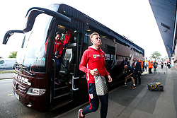 Adam Webster of Bristol City arrives at the Hawthorns for the Sky Bet Championship fixture against West Bromwich Albion  - Mandatory by-line: Robbie Stephenson/JMP - 18/09/2018 - FOOTBALL - The Hawthorns - West Bromwich, England - West Bromwich Albion v Bristol City - Sky Bet Championship