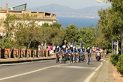 Ischia, Italy - Giro d'Italia Stage 2: Ischia - Forio (TTT) - May 5, 2013 - Blanco Pro Cycling Team