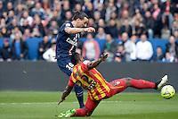 Zlatan IBRAHIMOVIC - 07.03.2015 -   PSG / Lens -  28eme journee de Ligue 1 <br />Photo : Andre Ferreira / Icon Sport