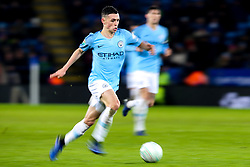 Phil Foden of Manchester City - Mandatory by-line: Robbie Stephenson/JMP - 18/12/2018 - FOOTBALL - King Power Stadium - Leicester, England - Leicester City v Manchester City - Carabao Cup Quarter Finals