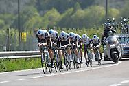 39° Giro del Trentino Melinda  1 TAPPA CRONOSQUADRE RIVA DEL GARDA ARCO 13.30KM AG2R La Mondiale  21-04-2015 © foto Daniele Mosna