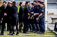 10-4-2017 STOCKHOLM - Attendance at official ceremony for the victims at the terrorist attack with a truck on 7 April , during the 1 minute silence<br /> The King King Carl Gustaf<br />  , The Queen Silvia , The Crown Princess Victoria , Prince Daniel, Prince Carl Philip, Princess Sofia COPYRIGHT ROBIN UTRECHT<br /> <br /> 2017/10/04 STOCKHOLM - Deelname aan de officiële ceremonie voor de slachtoffers in de aanval 7 april tijdens de 1 minuut stilte<br /> De koning Koning Carl Gustaf<br />  , De koningin Silvia, kroonprinses Victoria, Prins Daniel, Prins Carl Philip, prinses  Sofia aanslag van vrijdag in Stockholm. COPYRIGHT ROBIN UTRECHT aanslag , zweden , vrachtwagen , is , terrorist , asielzoeker,