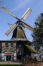 De Wieker Molen, De Wijk, Drenthe, Netherlands