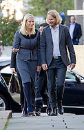 Oslo, 24-09-2015<br /> <br /> <br /> Crown Princess Mette-Marit opens the exhibition The red ruby. Erotic transgression in Norwegian literature in National Library on Thursday, 24 September 2015<br /> <br /> <br /> Photo: Royalportraits Europe/Bernard Ruebsamen