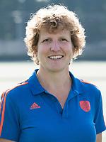 UTRECHT - Fysio Geertje Verhees. Jong Oranje dames voor EK 2017 in Valencia. COPYRIGHT KOEN SUYK