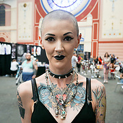 London, UK. 27 May 2017. Hundreds attends The Great British Tattoo Show at Alexandra Palace, London,UK.