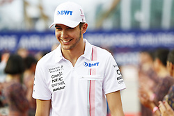 September 17, 2017 - Singapore, Singapore - Motorsports: FIA Formula One World Championship 2017, Grand Prix of Singapore, ..#31 Esteban Ocon (FRA, Sahara Force India F1 Team) (Credit Image: © Hoch Zwei via ZUMA Wire)