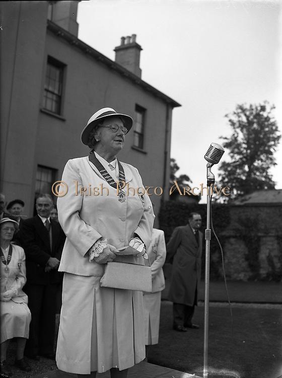 Bowling - Women's International  - Ireland, England, Scotland, Wales at Clontarf.20/06/1955