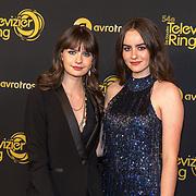 NLD/Amsterdam/20191009 - Uitreiking Gouden Televizier Ring Gala 2019, Julia Nauta en Sarah Nauta
