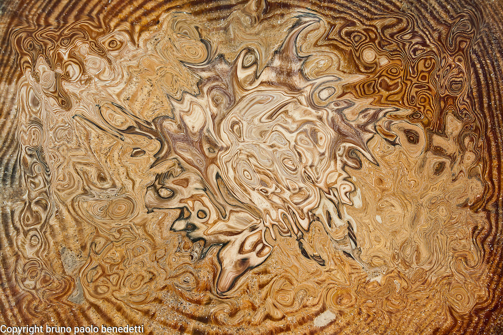 abstract total brown shades and tones  in brown fluid shape in rough texture,