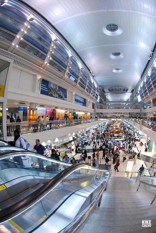 Dubai Airport is filled with mega stores, shopping options and souvenir stands.