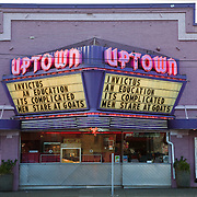Uptown Theater on Lower Queen Anne, Seattle, Washington