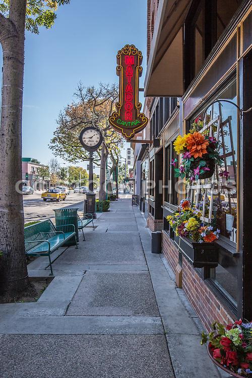 Street View of Harbor Blvd in Downtown Fullerton