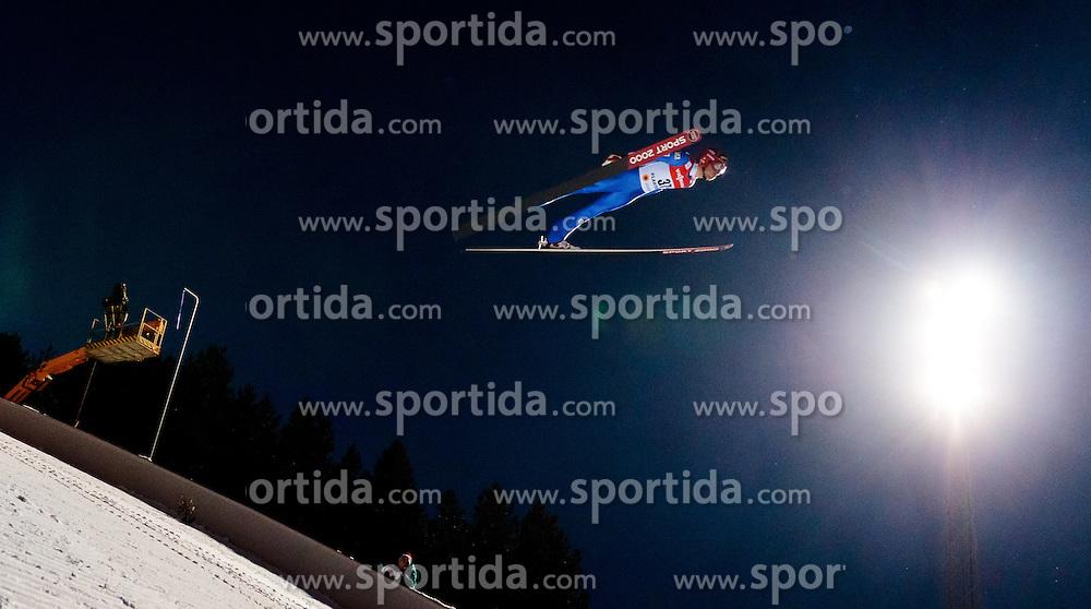 25.02.2017, Lahti, FIN, FIS Weltmeisterschaften Ski Nordisch, Lahti 2017, Herren Skisprung, Normalschanze, im Bild Vincent Descombes Sevoie (FRA) // Vincent Descombes Sevoie of France during Mens Normal Hill Skijumping Competition of FIS Nordic Ski World Championships 2017. Lahti, Finland on 2017/02/25. EXPA Pictures © 2017, PhotoCredit: EXPA/ JFK