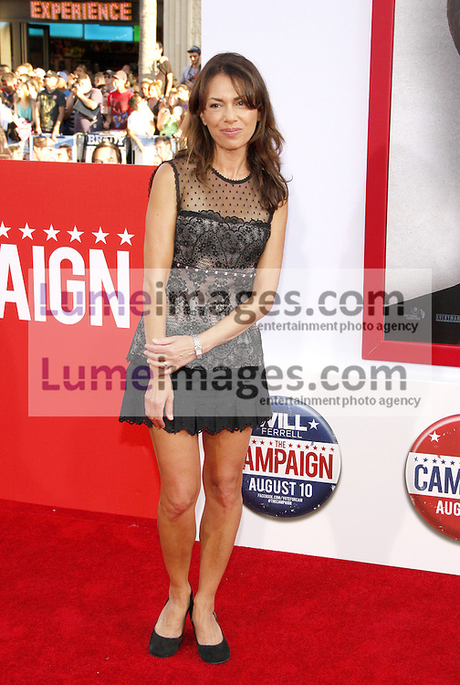 """Susanna Hoffs at the Los Angeles premiere of 'Campaign"""" held at the Grauman's Chinese Theater in Hollywood on August 2, 2012. Lumeimages.com"""