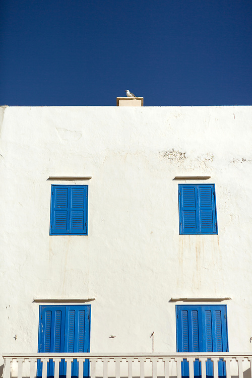 ESSAOUIRA, MOROCCO May 09th 2018 - Residential building architecture, Southern Morocco