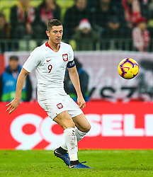 November 15, 2018 - Gdansk, Poland - Robert Lewandowsk of Poland during the international friendly soccer match between Poland and Czech Republic at Energa Stadium in Gdansk, Poland on 15 November 2018. (Credit Image: © Foto Olimpik/NurPhoto via ZUMA Press)