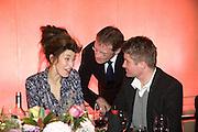 CATHY WILKES;SIR NICHOLAS SEROTA, 2008 Turner Prize Award. Tate Millbank. London. 1 December 2008 *** Local Caption *** -DO NOT ARCHIVE -Copyright Photograph by Dafydd Jones. 248 Clapham Rd. London SW9 0PZ. Tel 0207 820 0771. www.dafjones.com