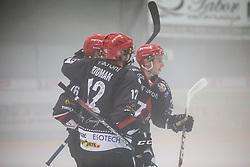 David Rodman (HK SIJ Jesenice) during the final match of Ice Hockey Slovenia Cup bettwen HK SIJ Acroni Jesenice and HK SZ Olimpija  Ljubljana on September 8, 2018 in Kranj, Slovenia. Photo by Urban Meglic / Sportida
