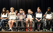 Participants wait their turn to spell during the Scripps Regional Spelling Bee at Penn Central Middle School Saturday March 12, 2016 in Perkasie, Pennsylvania. (Photo by William Thomas Cain)