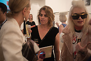 TIPHAINE DE LUSSIS; TRACEY EMIN; PAM HOGG, Royal Academy Summer Exhibition party. Burlington House. Piccadilly. London. 6 June 2018