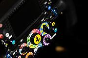 October 19-22, 2017: United States Grand Prix. Ferrari steering wheel detail