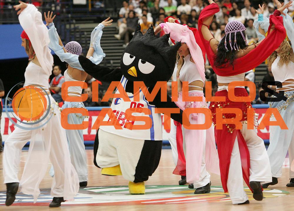DESCRIZIONE : Saitama Giappone Japan Men World Championship 2006 Campionati Mondiali Usa-Australia <br /> GIOCATORE : Mascotte <br /> SQUADRA : <br /> EVENTO : Saitama Giappone Japan Men World Championship 2006 Campionato Mondiale Usa-Australia <br /> GARA : Usa Australia Stati Uniti America Australia <br /> DATA : 27/08/2006 <br /> CATEGORIA : Ritratto <br /> SPORT : Pallacanestro <br /> AUTORE : Agenzia Ciamillo-Castoria/M.Kulbis <br /> Galleria : Japan World Championship 2006<br /> Fotonotizia : Saitama Giappone Japan Men World Championship 2006 Campionati Mondiali Usa-Australia <br /> Predefinita :