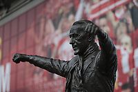 Football - 2018 / 2019 Premier League - Liverpool vs. Tottenham Hotspur<br /> <br /> The statue of legendary Liverpool manager Bill Shankly outside the Kop, at Anfield.<br /> <br /> COLORSPORT/ALAN MARTIN