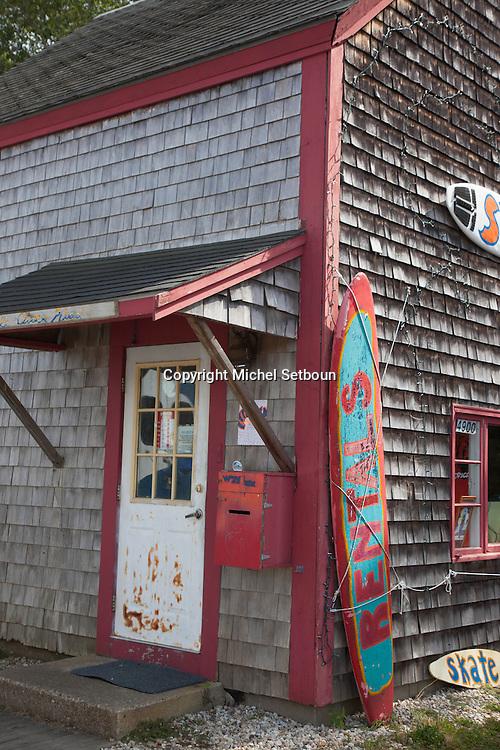 United States. Cape Cod in Massachussets. surf rental in