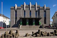 Þjóðleikhúsið, Hverfisgötu 19. The National Theatre of Iceland.